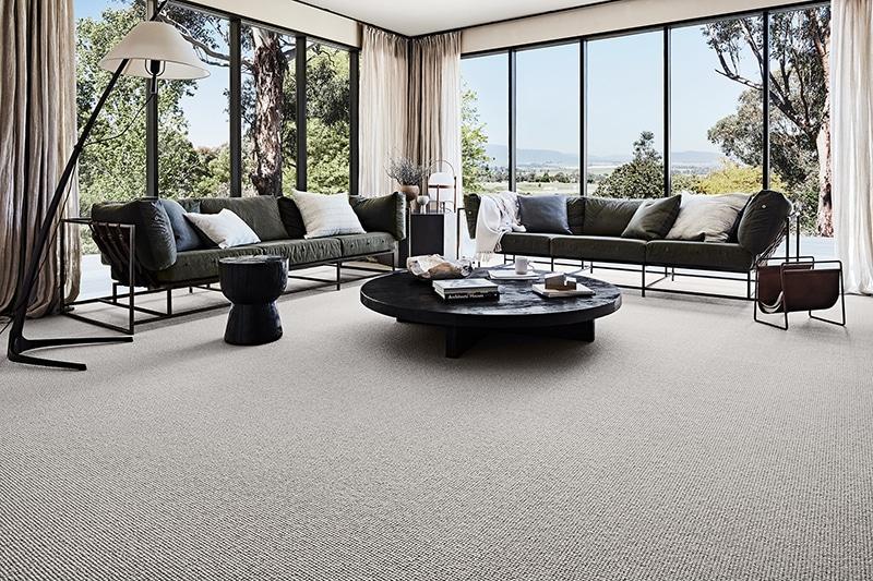 Wool Gallery Ravine Oatmeal Landscape Re800